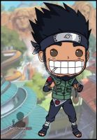 asuma chibi by justcallmeBECK