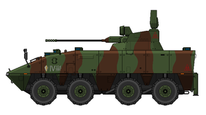 MA9A2 WMAV SHORADS (w/o missiles) by SixthCircle