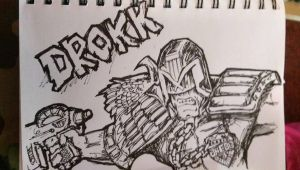 judge Dredd by UlfricGarrett