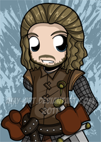 Ned Stark - Game of Thrones by amy-art