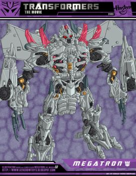 TFM01 LEADER CLASS - MEGATRON by GERCROW