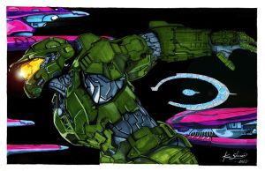 :Master Chief: by MsAnnThrope