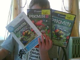 My pikmin games by Eba1997