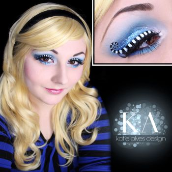 Alice in Wonderland Makeup w/ Tutorial by KatieAlves