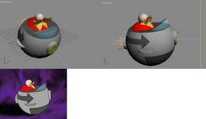 3D Animation project-Eggman by t2thefox