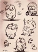 Minions - 6 by Mitch-el