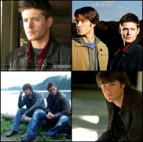 Supernatural collage by lost-in-dreamsxo