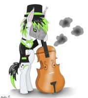 Kione playing a cello by FinnishGirl97