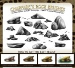 Charfade's Rock Brushes by charfade