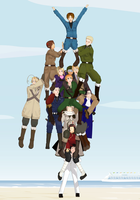 APH MMD World Tower by Hanagami