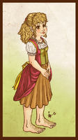 genderbent hobbit BILBO by surrenderdammit