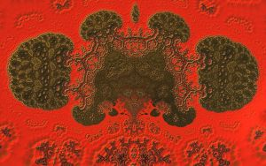 Red N Black Ducks Pong 73 by Topas2012