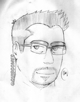 Myself (and +2000 pageviews) | Sketch by guibgomes