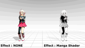 [MMD x MME] 24 Effects Demo [Video Link] by Karinui