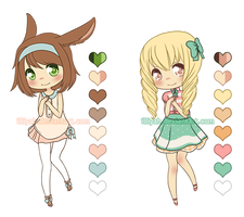Adoptables Set #2 [1/2 OPEN] Reduced price! by illiyah