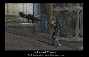 Automatic Weapons by compositecoyote