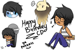 Happy Birthday CD~ by Peapup