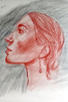 Life Drawing - Face Study 2 by BethanyAngelstar