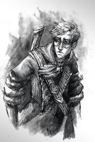 Inktober Percy by Vicdin