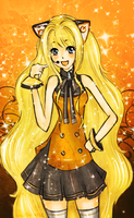 Vocaloid SeeU by SweetDarknesz