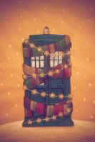 Tardis Card by nokeek
