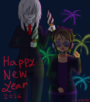 Happy New Year 2016 by CreepypastaGoth