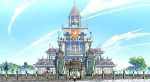 MMD Fairy Tail Guild Hall Request by 2234083174