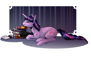 Comic Twilight Sparkle by EllisArts
