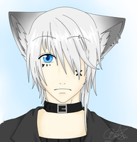 Arata head shot/Male face practice by Lovely--Lust