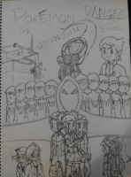 Very Rough WIP of my FanFic Cover... by Devilboy58
