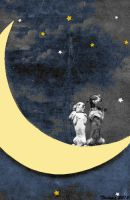 Dogs on the Moon by Thelema001