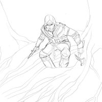 Assasin's Creed - 2013 April Art Jam by JeremiahLambertArt