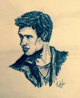 Dean Winchester sketch by Meteorman05