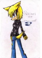 Rachel the werewolf by RACHLOVEDRAW