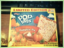Pumpkin...Pie...Poptarts.... by ahalfling