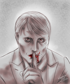 Hannibal daily sketch 251 by FuriarossaAndMimma