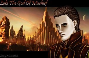 Loki The God Of Mischief by LonyMoon