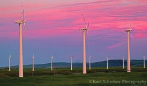 Wind Farm by KSPhotographic
