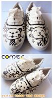 couple cat shoes by JONY-CAKEP