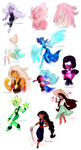 Steven Universe Sketches by Snowballflo