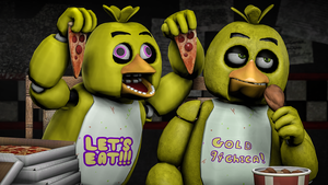 We might look the same, but we're different (SFM) by gold94chica