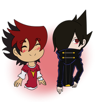Guren and Gen by gaper4