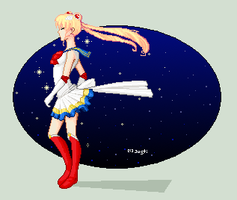 .:sailor moon:. by PorcelainMorge
