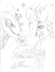 MLP A King Awakened poster cover concept art HD by An1m3T0TH3MAX
