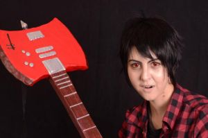 Marshall Lee and His Axe II by Gala-maia