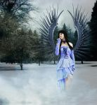 Snow Woman by MyVirgoPhotography