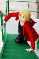 Edward Elric: Up Front by Lishrayder