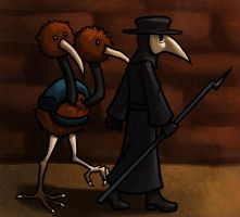 Plague Doctor and Doduo