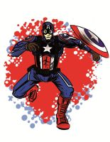 Captain America by warnoon
