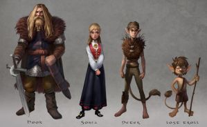Peter pan project final lineup by Detkef